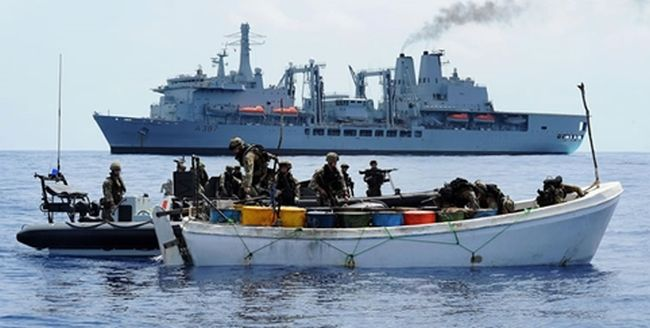 Nigerian Navy Arrests 19 Suspected Pirates Along With 2 Vessels 4
