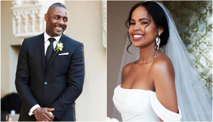 Davido Spotted At Idris Elba and Sabrina Dhowre's Wedding Reception 1