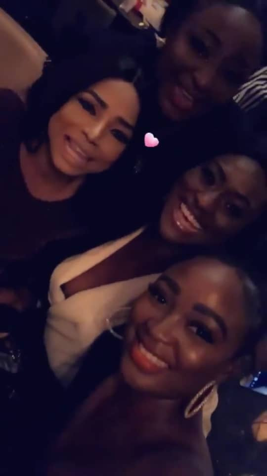 The Insider: Check Out The Photos From Ini Edo's Star Studded Birthday Dinner 2