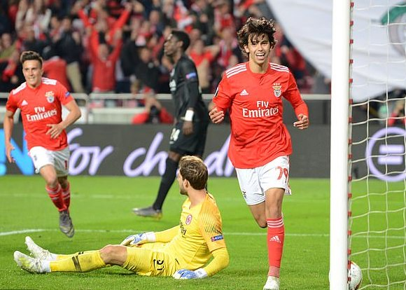 Meet Joao Felix The £105m Rated 19year Old Benfica Sensation Man United Wants To Sign 1