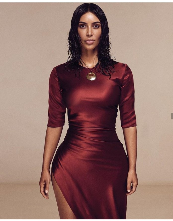 Get It Girl! Kim Kardashian Gets Her First Solo Cover On Vogue US 4