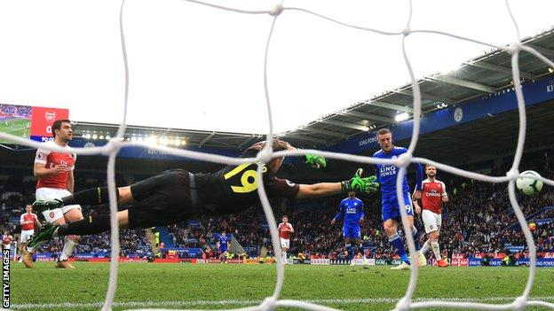 Leicester3 Arsenal 0: Gunners Slip To Third Straight Defeat As Vardy Bags A Brace 1