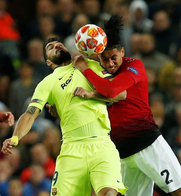 Manchester United 0 Barcelona 1: Shaw Own Goal Gives Messi's Team Advantage 1