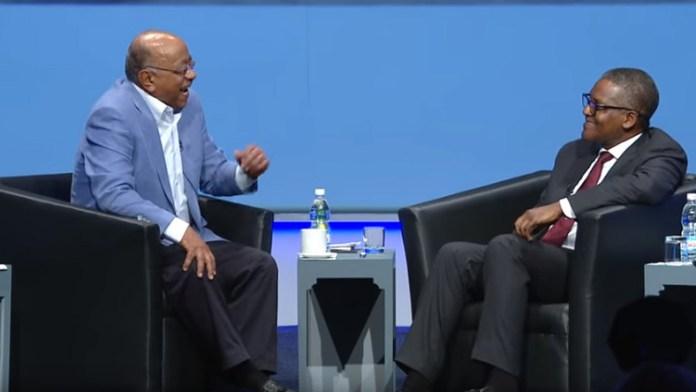 Must Watch Video: The Trending Aliko Dangote Interview With Mo Ibrahim 1