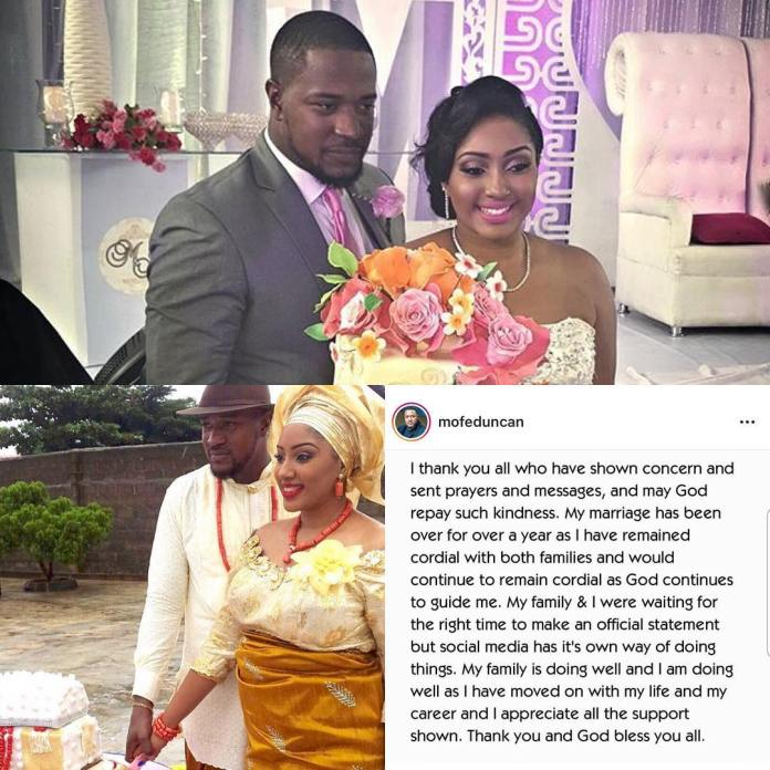 Newlywed Actor Mofe Duncan Confirms Marriage To Wife, Jessica Kakkad, Is Over....After 3 Years Together 3