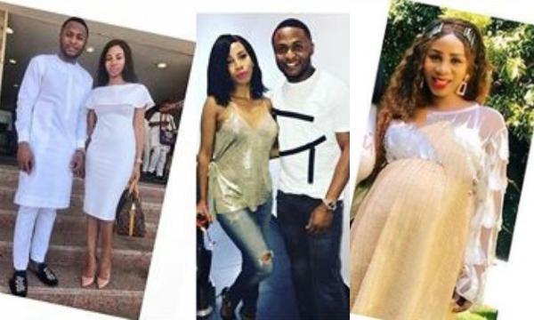 Nicola Siyo: Meet Ubi Franklin's Pretty South African Third Babymama And His Former Employee 3