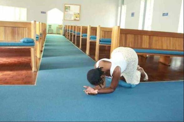 Shocker! Pastor Impregnates Member, Prays For Her Mother Naked 1