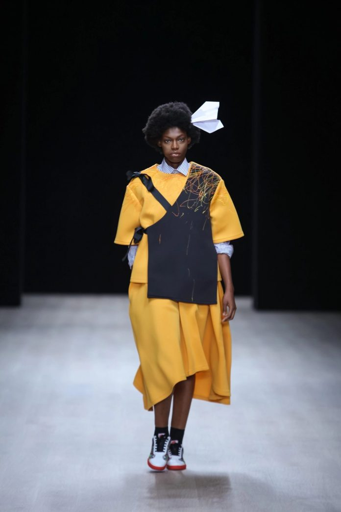 Refreshing! Papa Oppong New Collection At ARISE Fashion Week 2019 4