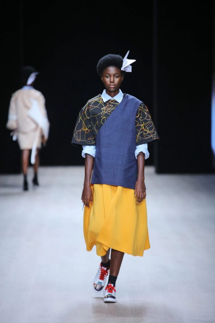 Refreshing! Papa Oppong New Collection At ARISE Fashion Week 2019 6