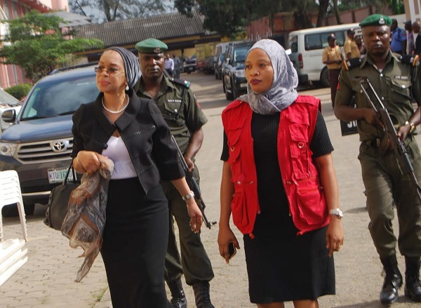 Drama At Court: EFCC Apprehends Justice Rita Ofili-Ajumogobia After Corruption Charges Were Struck Out 3