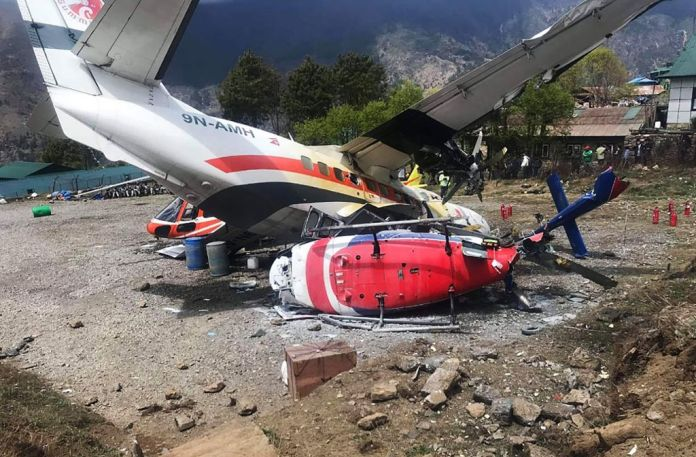Three Killed, Three Others Injured As Plane Hits Helicopter At World's Most Dangerous Airport 1