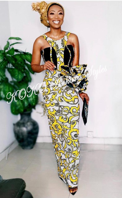 Exquisite And Chic- The Perfect Words To Define These Ten Gorgeous Ankara Styles 1