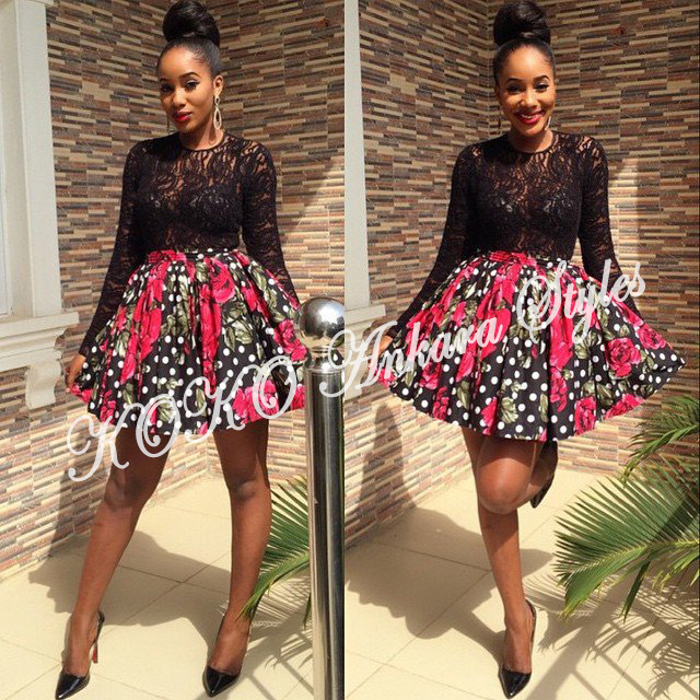 Ten Ankara Styles That Proves That Skater Dresses Are Still As Cool As Ever 6