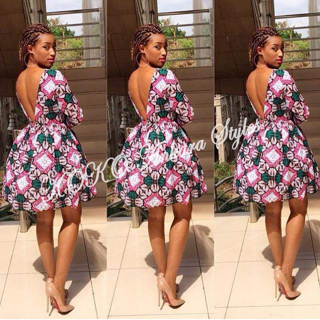 Ten Ankara Styles That Proves That Skater Dresses Are Still As Cool As Ever 1