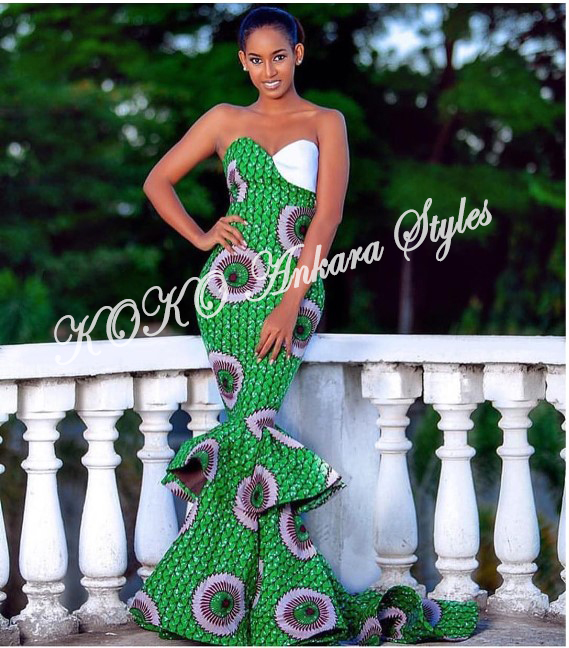 Exquisite And Chic- The Perfect Words To Define These Ten Gorgeous Ankara Styles 8