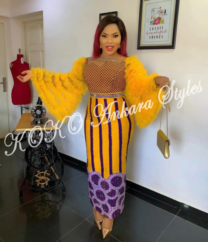 These Five Stunning Ankara Styles Prove Ruffles Are Still As Gorgeous As Ever 3