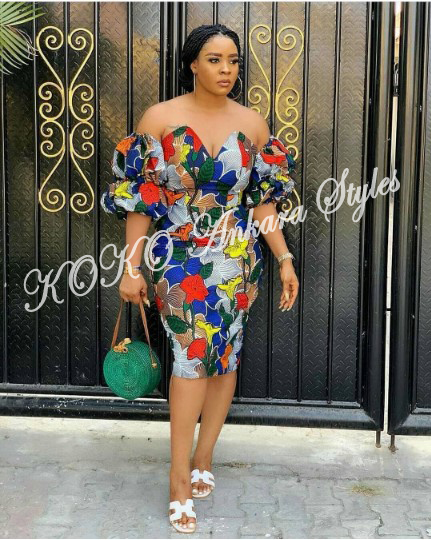 Five Short Ankara Styles That Are Perfect For Weekends 3