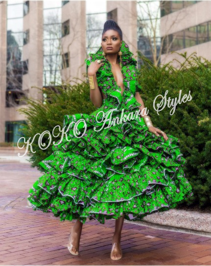 10 Extra Chic Ankara Styles That Would Have All Heads Turning At Your Slay 5