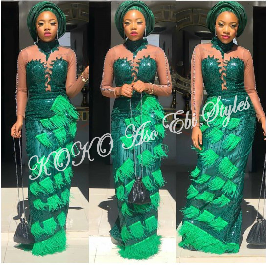 Aso Ebi Styles: Be The Rave-Making Barbie In These 5 Styles 1