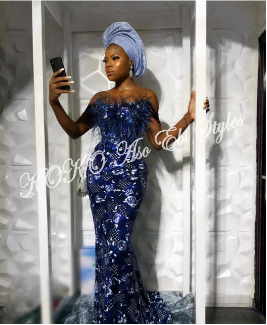 These Five Aso-ebi Styles Came With All The Gorgeous Owanbe Sauce 4