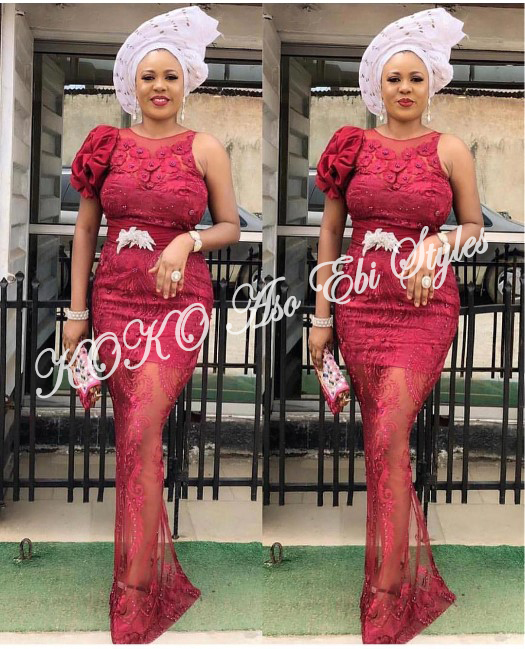 Five Chic Aso-ebi Styles That Will Absolutely Make A Stunning Wedding Guest Style Statement 1