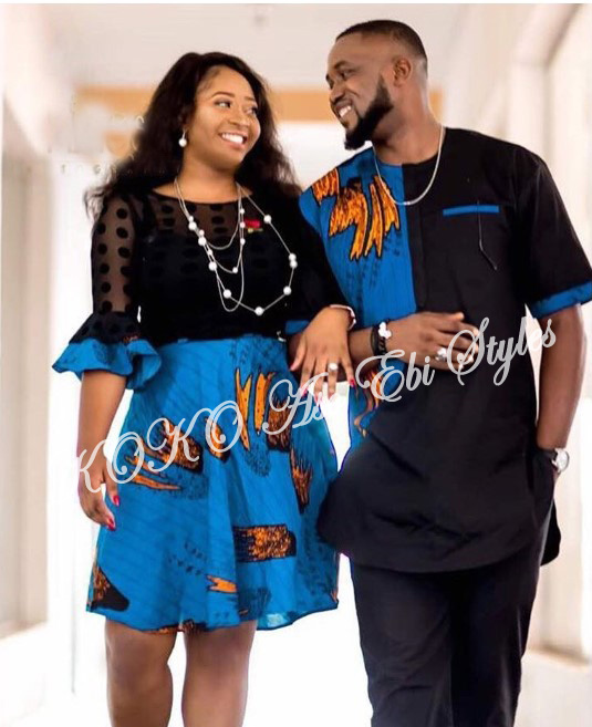 Couple It Up In These 10 Extremely Gorgeous Co-ordinating Ankara Styles 6