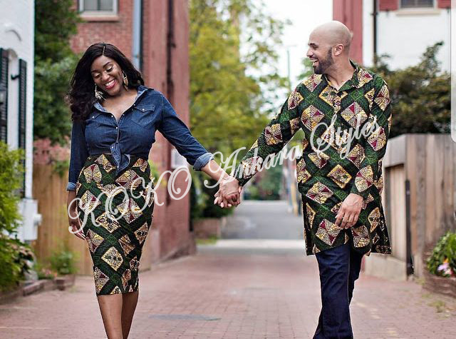 Couple It Up In These 10 Extremely Gorgeous Co-ordinating Ankara Styles 4