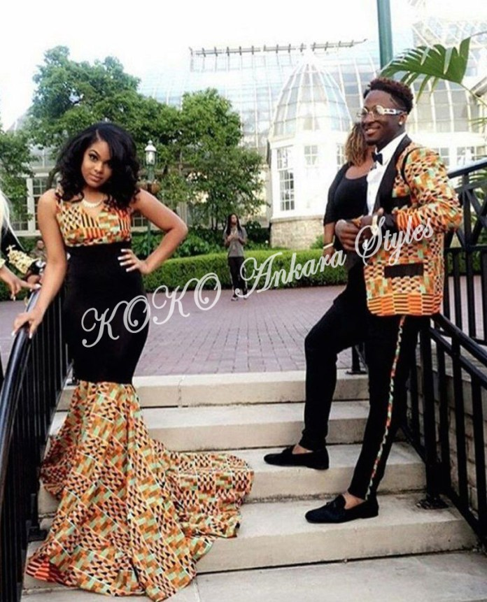 Couple It Up In These 10 Extremely Gorgeous Co-ordinating Ankara Styles 2