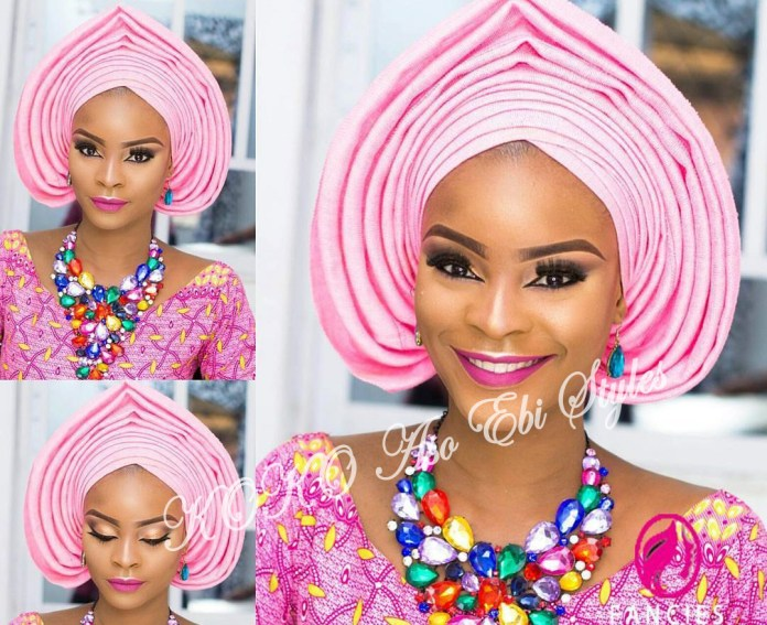 #Onigele! Check Out These Ten Flamboyant And Stunning Gele Styles For Your Next Owanbe 6