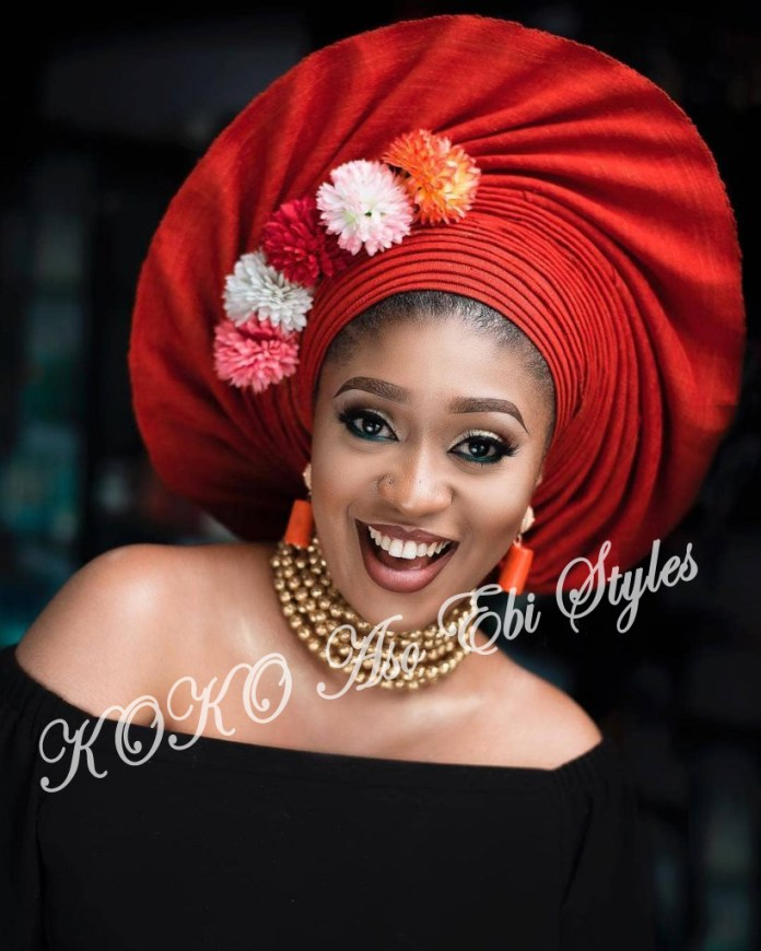 #Onigele! Check Out These Ten Flamboyant And Stunning Gele Styles For Your Next Owanbe 5
