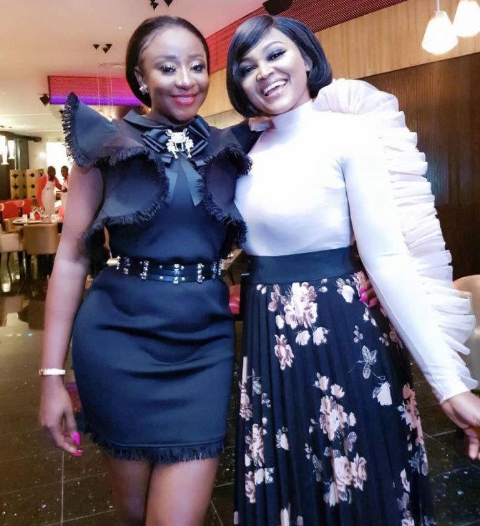 The Insider: Check Out The Photos From Ini Edo's Star Studded Birthday Dinner 10