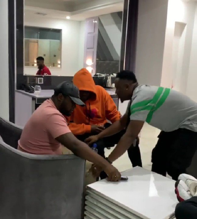 All Is Well! Demmie Vee Postrates For Kizz Daniel As They Reconcile Their Differences 1