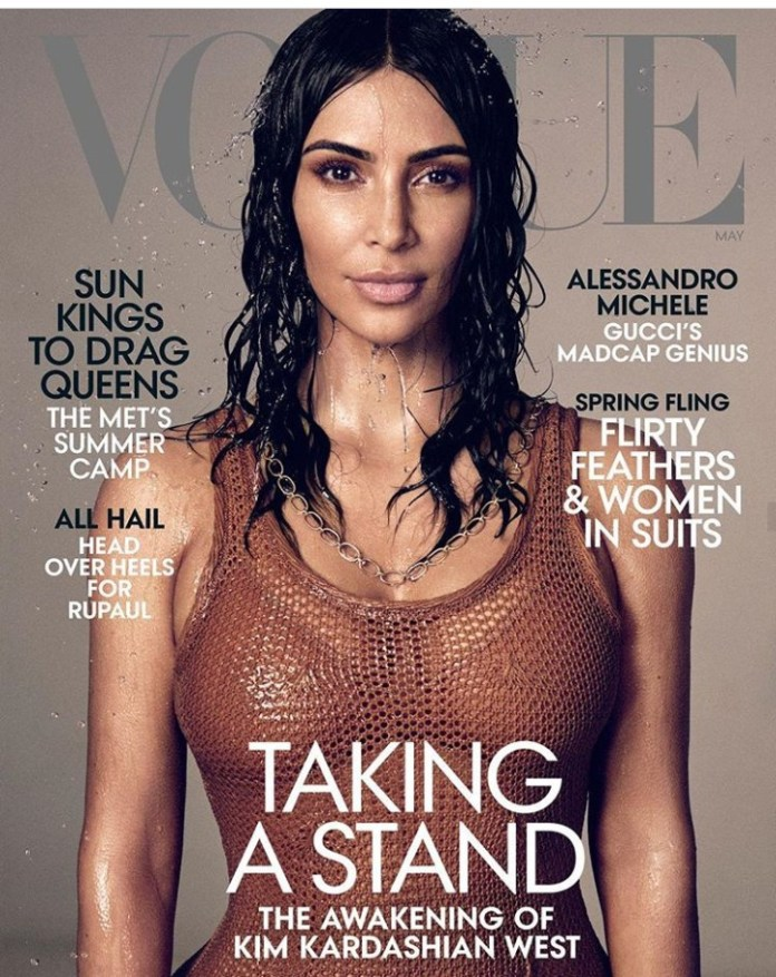Get It Girl! Kim Kardashian Gets Her First Solo Cover On Vogue US 6