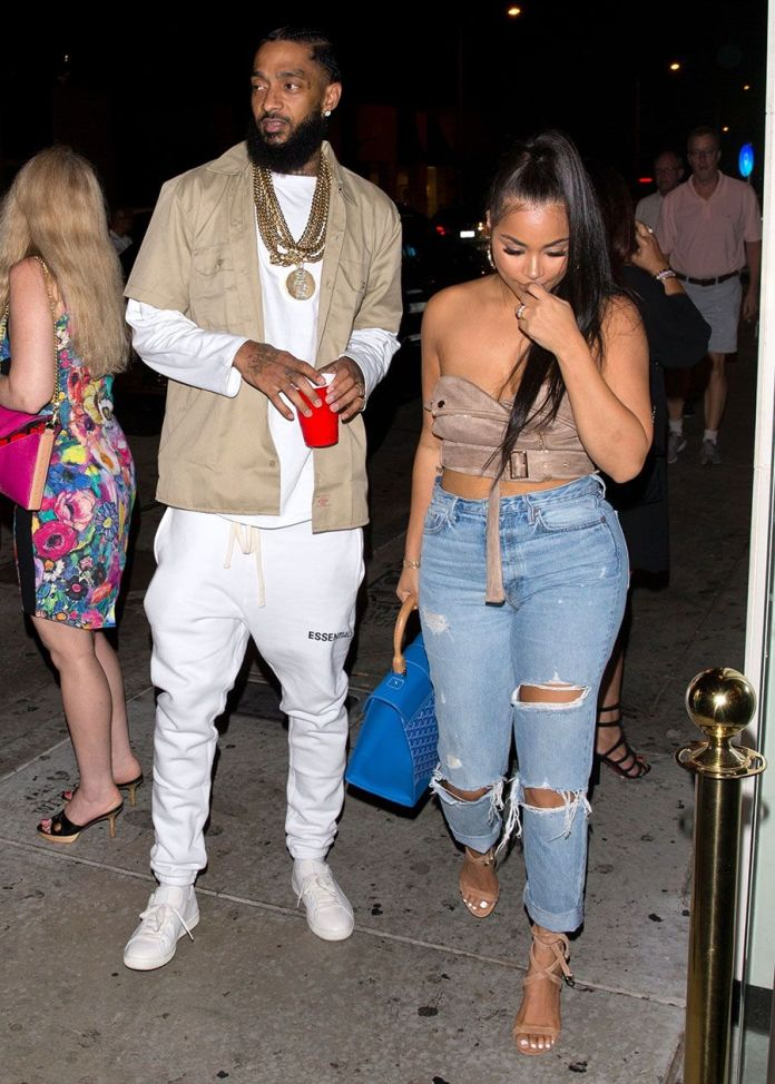 5 Things You Should Know About Nipsey Hussle's Girlfriend Lauren London 2
