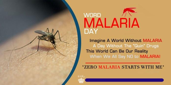 World Malaria Day: Together We Can Defeat Malaria, Zero Malaria Starts With Us! 2