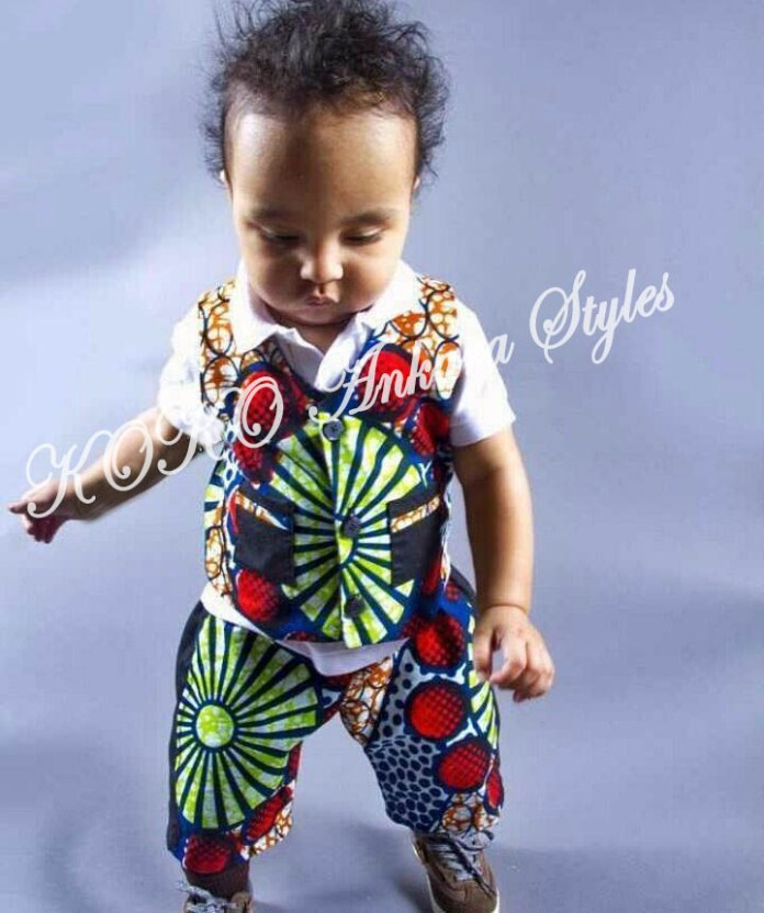 Kiddies Special: Ten Absolutely Adorable Ankara Styles Your Kids Will Look Amazing In! 1