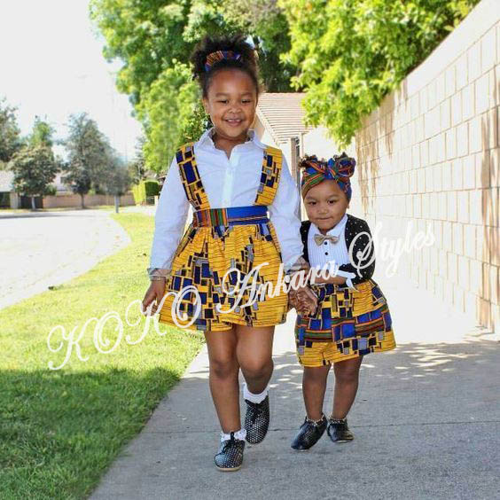 Kiddies Special: Ten Absolutely Adorable Ankara Styles Your Kids Will Look Amazing In! 9