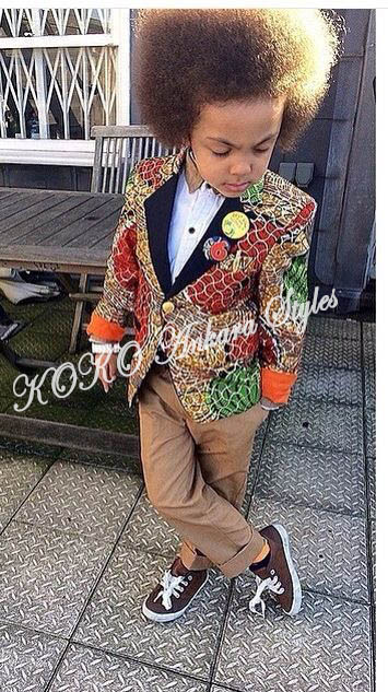 Kiddies Special: Ten Absolutely Adorable Ankara Styles Your Kids Will Look Amazing In! 7