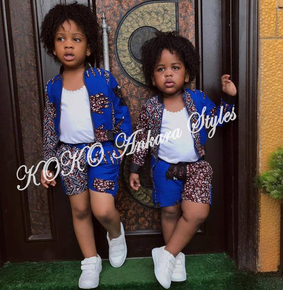 Kiddies Special: Ten Absolutely Adorable Ankara Styles Your Kids Will Look Amazing In! 4