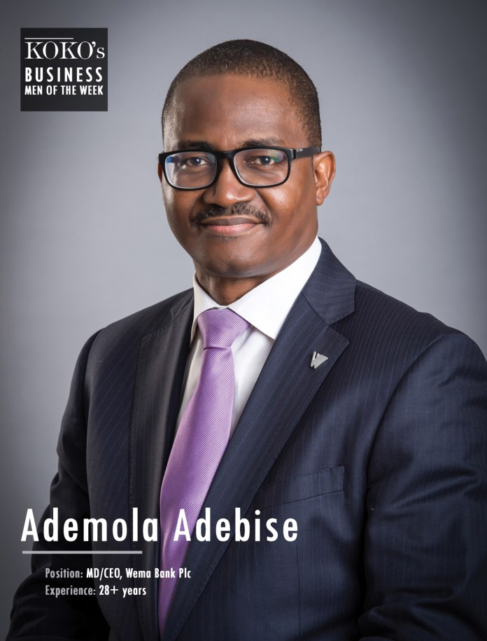 KOKO's Men Of The Week: The Top 6 Coolest MD/CEO's Of Nigerian Banks 1