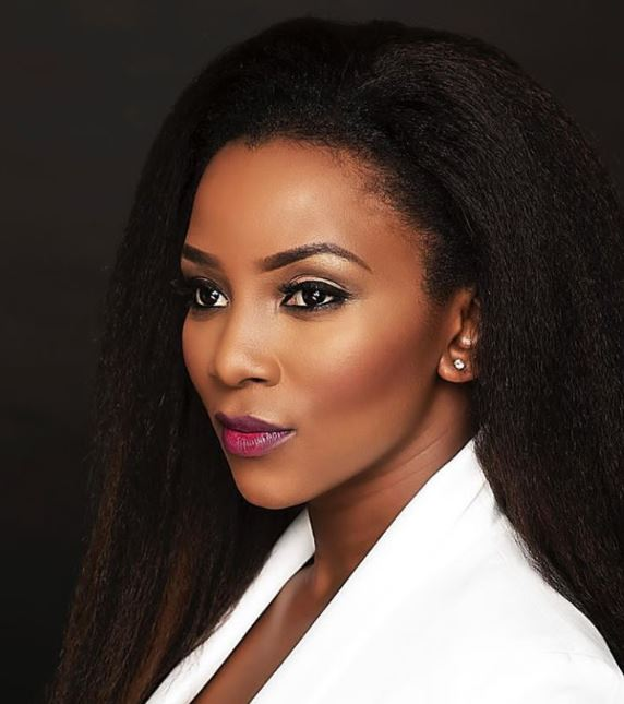 Genevieve Nnaji Is A Natural Beauty In Nude Makeup And Pink Lips 2