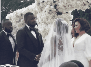 The Insider: Stunning Photos From John Dumelo And Gifty Nkornu's White Wedding 3