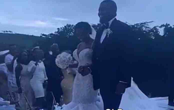The Insider: Stunning Photos From John Dumelo And Gifty Nkornu's White Wedding 2