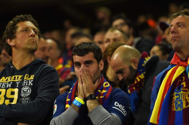 Kop That! Liverpool Score Four Against Barcelona To Reach Champions League Final 2