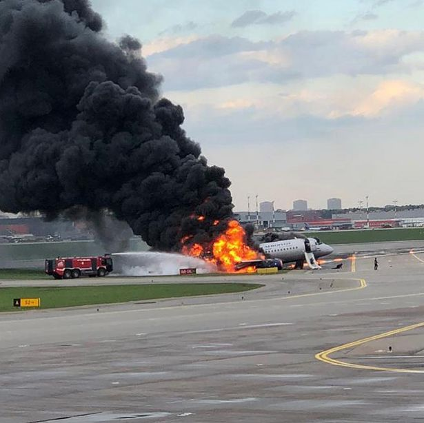 Russia Plane Disaster: 41 Dead As Burning Aeroflot Plane Makes Emergency Landing In Moscow 3