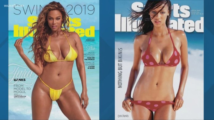 Smouldering! Tyra Banks, 45, Sizzles For Sports Illustrated Swimsuit Cover 5