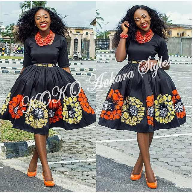 Five Ankara Styles With Beautiful Patches That You Will Definitely Slay In 4
