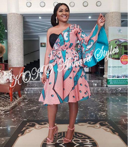 Five Times Mercy Aigbe Rocked Fantastic Ankara Styles 5