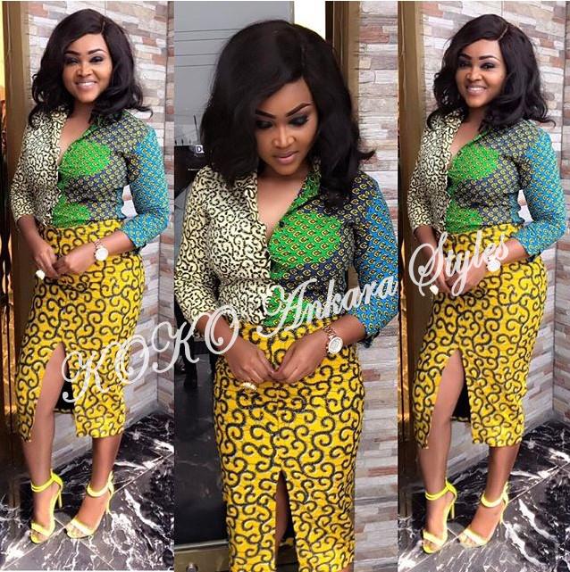 Five Times Mercy Aigbe Rocked Fantastic Ankara Styles 2