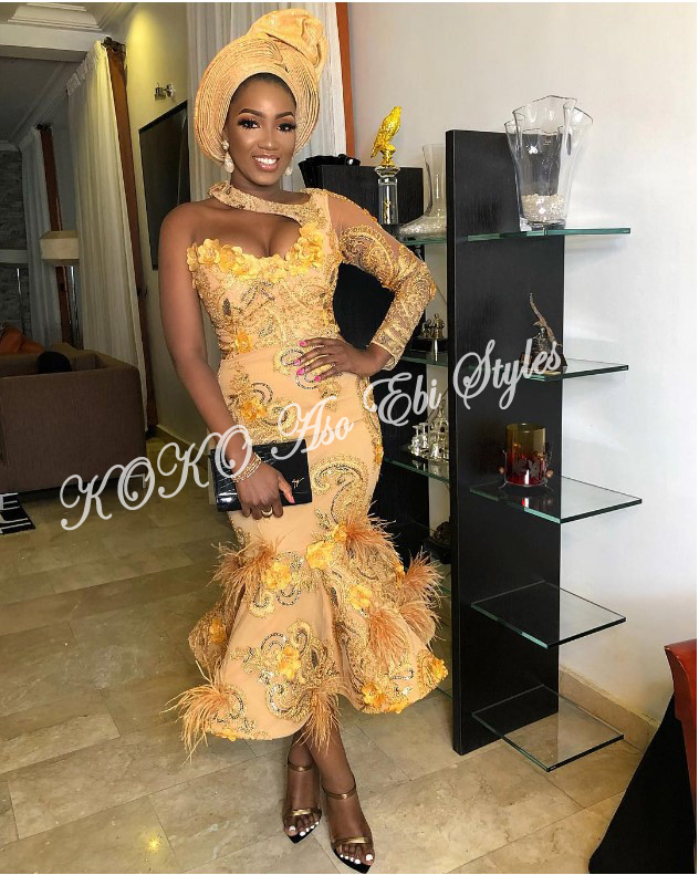 Five Aso-ebi Styles That Guarantee The Beautiful Slay You Have Been Looking For 3